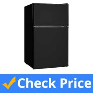Midea-WHD-113FB1-Double-Door-Mini-Fridge-with-Freezer
