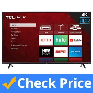 TCL 55S425 55 inch 4K Smart LED Roku TV
