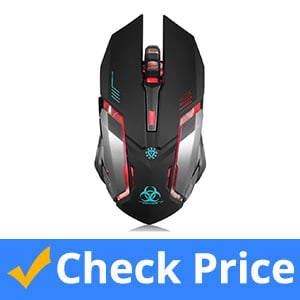 VEGCOO-C8-Wireless-Rechargeable-Gaming-Mouse-(Silent-Click)